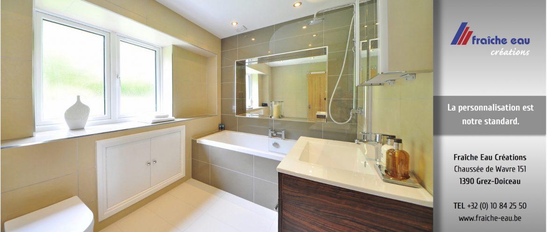 salle de bain equip e douche rangement marbre corian bossut walhain fraiche eau cr ation. Black Bedroom Furniture Sets. Home Design Ideas